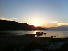 Obiettivo Pesaro: romantico tramonto al mare http://vivere.biz/3Wm