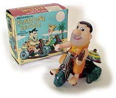 Flintstones tin toy