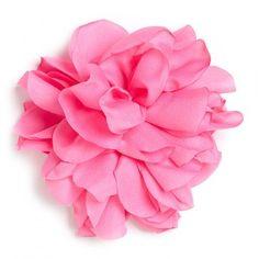 Flor de tela color Chicle.