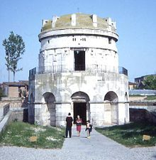 Ostrogoths - The mausoleum of Theoderic the Great in Ravenna