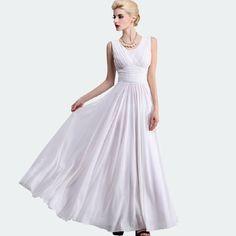 Tight Waist Pleated Design V-Neck Sleeveless Long Chiffon Dresshttp://www.jollychic.com/p/tight-waist-pleated-design-v-neck-sleeveless-long-chiffon-dress-g36397.html