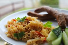 Spicy Sausages with Cous Cous for the Whole Family