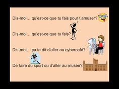 Tu fais quoi?John Demado French Teacher, Teaching French, High School French, French Songs, French Stuff, Core French, French Classroom, French Immersion, Class Activities