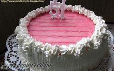 Puncs torta recept fotóval