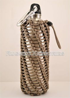 Paracord Harness Stainless Bottle Bottle Cover by RuggedXessories, $49.50
