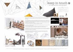 Michèle Meister: Interior Design portfolio - All About Decoration Portfolio Design Layouts, Portfolio Examples, Art Portfolio, Interior Design Layout, Interior Design Portfolios, Graphisches Design, Study Design, Interior Sketch, Home Design