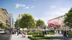 Future projects masterplanning winner: Earls Court masterplan, UK by Farrells