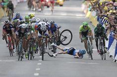 Andrew Talansky, OBRAZEM: Bolest a utrpení na Tour de France
