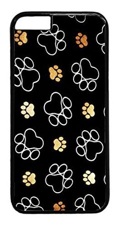 Paws Paw Pattern Dog Cat Pet Cute Case Cover rubber Plastic Black Case Cover for iPhone 7 Plus by Deal Market LLC (Tm)Ships from Florida and Guranteed delivery within 7 Plus Business days. For your new iPhone 7 PLUS ( 5.5 inch) Truly unique case that offers ultimate protection to your phone as well as adds great style to it. Compatible with Verizon, Sprint, AT&T, and T-Mobile models, our universal custom cases offer the perfect fit for your phone no matter who your carrier is. The…