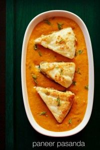 paneer pasanda recipe | restaurant style paneer pasanda recipe