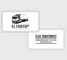 A.C. CARRIERS by Nicholas Christowitz, via Behance