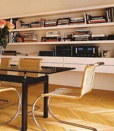 Carine Roitfeld's Paris apartment.