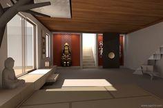 Meditation+Room+Design | Interior Design | Custom Furniture Design | Art Selection | Lighting