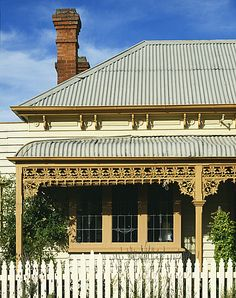 Traditional Colonial House Melbourne Australia Australian ArchitectureAustralian