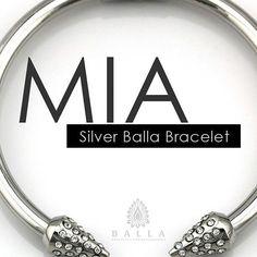 STUNNING - ballabracelets.com  #beautiful #jewelry #fashion #style #silver #bracelet #instafashion #loveit #musthave #ballabracelets #pretty #trendy #fashionista