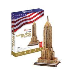 3D Puzzle - Empire State Building (55pcs)