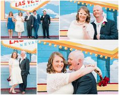 Las Vegas Wedding - wedding party in Downtown Vegas - By Rachel Anne Garcia of Brilliant Imagery, a boutique wedding photography studio specializing in destination weddings and creative day after sessions.