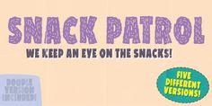 Snack Patrol DEMO Font · 1001 Fonts