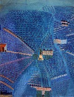 Raoul Dufy * Paris * ♥ Inspirations, Idées & Suggestions, JesuisauJardin.fr, Atelier de paysage Paris, Stéphane Vimond Créateur de jardins ♥