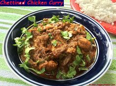 Chettinad Chicken Gravy Recipe