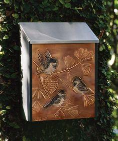 3501: Chickadee Wall Mount Mailbox (Product Detail)
