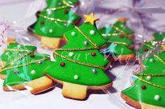 Cookies arboles navidad