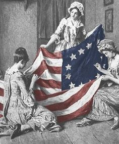 Betsy Ross and the Birth of Old Glory The Effective Pictures We Offer You About early American History A quality picture can tell you many things. You can find the most beautiful pictures that can be American Pride, Early American, American Flag, American History, American Independence, British History, Native American, Us History, History Facts