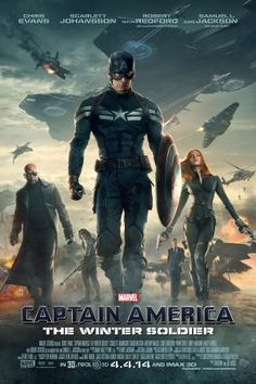 Marvel's Captain America: The Winter Soldier one-sheet poster.