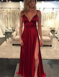 Unique A-Line Spaghetti Straps Sexy Prom Dress,Purple Tulle