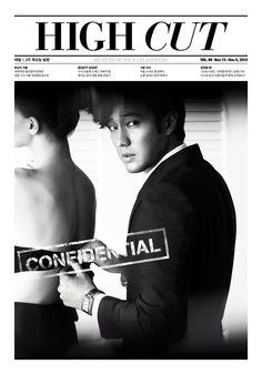 So Ji-sub for High Cut » Dramabeans