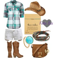 """""""SummerCountry Concert Outfit"""" by katiebeebenson on Polyvore"""