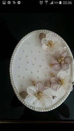 This Pin was discovered by Nur Needle Lace, Decoupage, Decorative Plates, Handmade, Crafts, Home Decor, Craft, Tablecloths, Homemade Home Decor