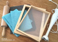 FAVORITE TUTORIAL   Handmade paper from scraps