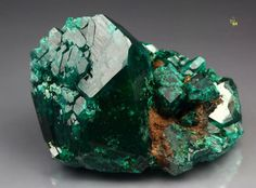 """DIOPTASE. Went to sleep years ago wondering what to give a friend for his birthday. Had a dream where I was looking in a gift shop that sold gems and minerals. I found one I didn't know and asked the clerk about it. She said it was """"emerald green dioptase."""" I said, """"I'll never remember that when I wake up."""" She replied, """"Repeat it over and over and you'll remember."""" I did, then researched it, finding it was really a stone. Found one online and it was the perfect gift. True Story. :)"""