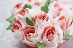 Rose Cupcake ft. Russian Piping Tips – Renee Conner Cake Design