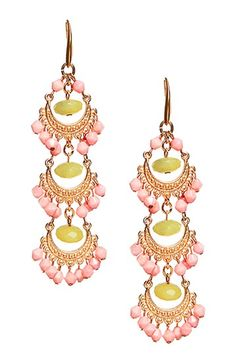 Kalliope Drop Earrings, I love these!! Even if my neck is too short for them!!