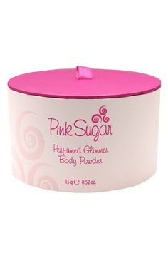 Pink Sugar Perfumed Glimmer Body Powder available at Nordstrom