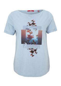 T-Shirt mit sommerlichem Print von s.Oliver. Entdecken Sie jetzt topaktuelle…