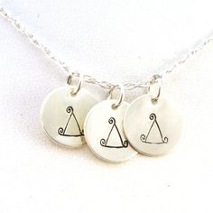 Whimsical Delta Delta Delta Necklace  Official by CrowStealsFire, $53.00