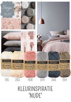Henja: online garenwinkel the blush is just a tad bright. Yarn Color Combinations, Colour Schemes, Ideias Diy, Colour Pallette, Design Seeds, Colour Board, Yarn Colors, Crochet Yarn, Color Inspiration