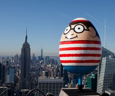 The Fabergé Big Egg Hunt Hits NYC - Where's Waldo? Egg from #InStyle