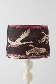 Swan Flight Light Shade - anthropologie.eu