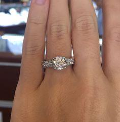Engagement Rings 2017  Verragio Classic V-910-R7 0.50ctw Diamond Engagement Ring Mounting