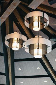 Ceiling Pendant, Ceiling Lamp, Pendant Lamp, Ceiling Lights, Interior Lighting, Lighting Design, Contemporary Light Fixtures, Fire Glass, Custom Lighting
