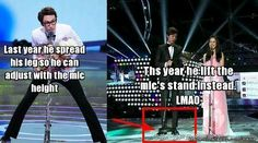 Tall People Problems: Mic Edition