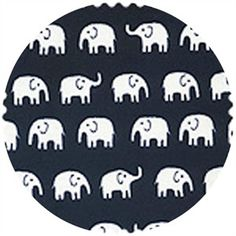 Daiwabo Japan Tip Top Cotton Elephant Walk Black