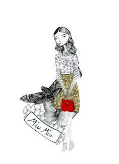 miu miu.  thistledown spirits.  Katy Smail 2012.