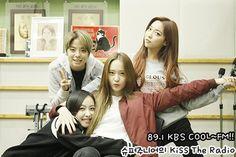 151105 Krystal, Victoria, Amber, Luna f(x) = Kiss The Radio
