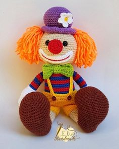 Crochet Animal Amigurumi, Crochet Amigurumi Free Patterns, Amigurumi Doll, Free Crochet, Crochet Cat Pattern, Granny Square Crochet Pattern, Knitted Dolls, Crochet Dolls, Barbie Knitting Patterns