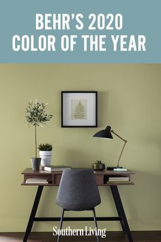 Behr's 2020 Color of the Year | What's new for paint trends in 2020? A return to our ancient, earthy roots—at least if you ask Behr Paint. #decorideas #homedecor #southernliving #colorful